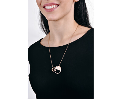Luxusní pozlacený náhrdelník Locked KJ8GJN100100
