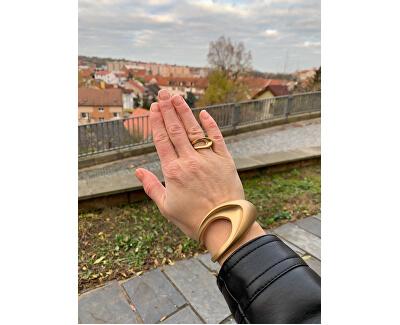 Inel de lux placat cu aurShape KJ3YJR1101
