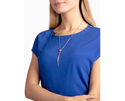 Oceľový náhrdelník Side KJ5QJN100100 s regulovateľnou dĺžkou