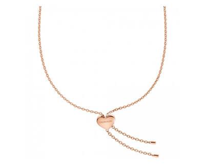 Oceľový náhrdelník Side KJ5QPN100300 s regulovateľnou dĺžkou