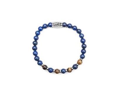 Modrý korálkový náramek 860-180-090017-0000