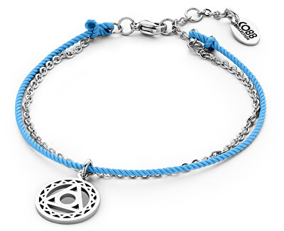 Modrý mandala náramok Piata čakra 860-180-090203-0000
