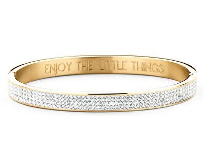 Pevný pozlacený náramek Enjoy the little things 860-180-090310-0000