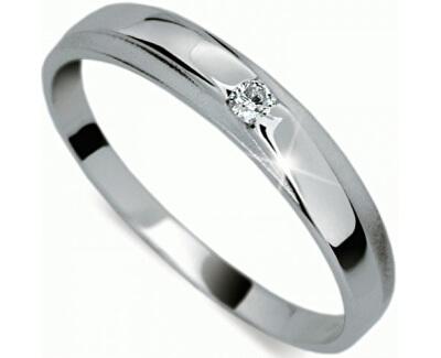 Jemný diamantový prsten DF1617b