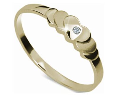 Romantický zásnubní prsten DF1876z