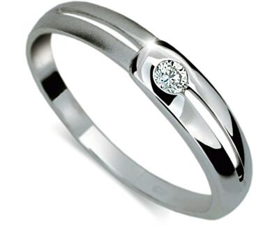 Zásnubní prsten s diamantem DF1049b