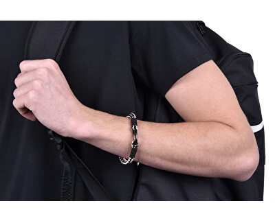 Kožený náramek pro muže DCFB50030500