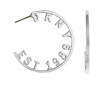 Cercei rotunzi cu logo 5547959