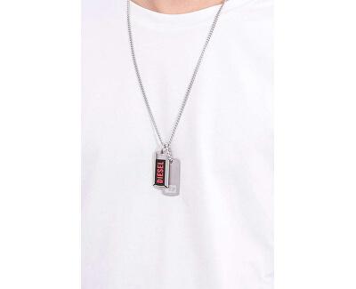 Pánský náhrdelník s přívěsky DX1244040