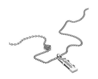 Colier din oțel pentru bărbați DX1036040