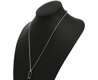 Lanț din oțel pentru bărbați cu pandantiv EGS2031040