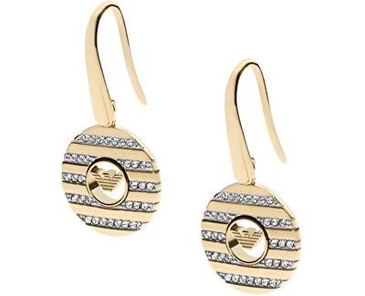 Cercei eleganți din oțel placat cu aur EGS1664710
