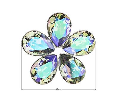 Třpytivý brož Květina 58003.5 paradise shine