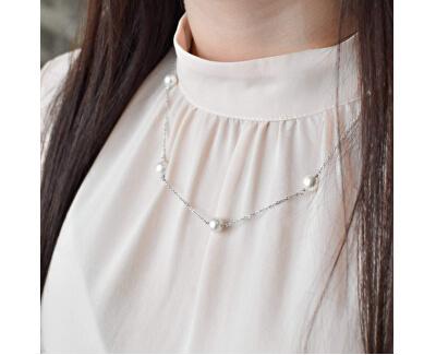 Zvýhodněná souprava stříbrných šperků Pavona 21033.1, 22015.1, 23008.1 (náhrdelník, náramek, náušnice)