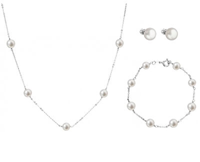 Elegantní zvýhodněná souprava šperků Pavona 21004.1, 22015.1, 23008.1 (náhrdelník, náramek, náušnice)