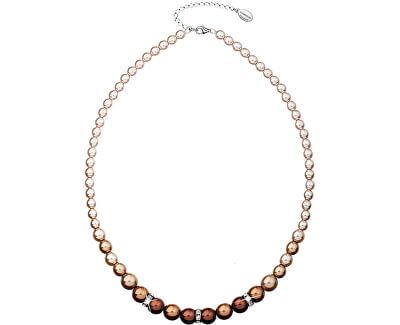 Colier cu perle 32005.3 brown