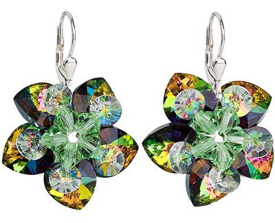 Cercei cu flori 31130.5 vitrail medium