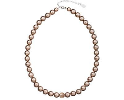 Colier cu perle 32011.3 bronze