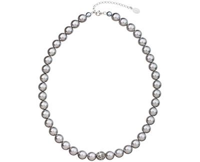 Colier de perle 32011.3 light grey