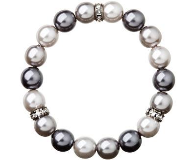 Brățară cu perle 33061.3 grey