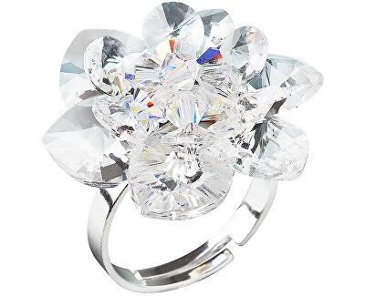 Inel cu nuferi 35012.1 cristal