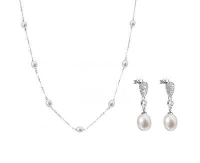 Půvabná zvýhodněná souprava šperků Pavona 22016.1, 21040.1 (náhrdelník, náušnice)