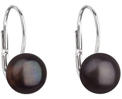 Strieborné náušnice s pravými perlami Pavona 21044.3