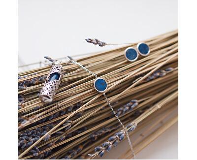 Stilvolle Halskette mit Anhänger und Lasurstein, M ERN-HEAL-RQ-M (Kette, Anhänger)