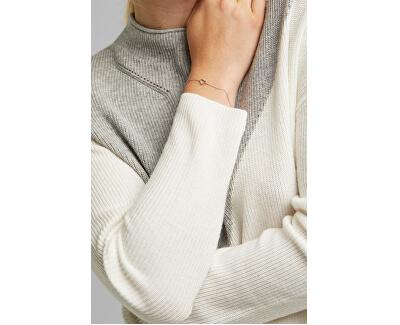 Romantický stříbrný náramek se srdíčkem ESBR01371117