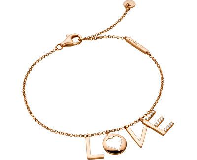 Bronzový náramek Love Amory ESBR00231318