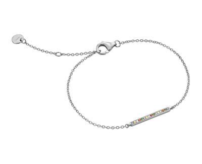 Stříbrný náramek s krystaly Joline ESBR01101117