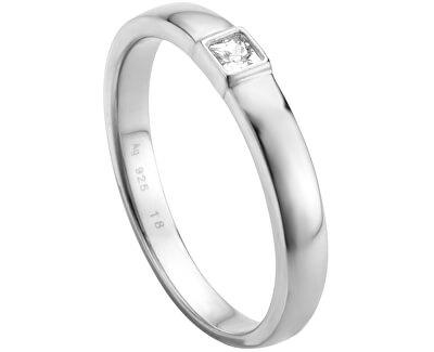 Strieborný prsteň Gem ESRG005214