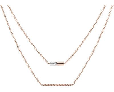 Doppel Bronze Halskette ESPRIT-JW52913 ROSE
