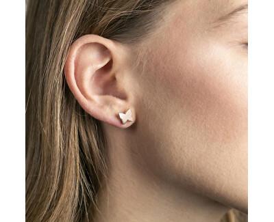 Acél fülbevalók Pillangók WE1036R