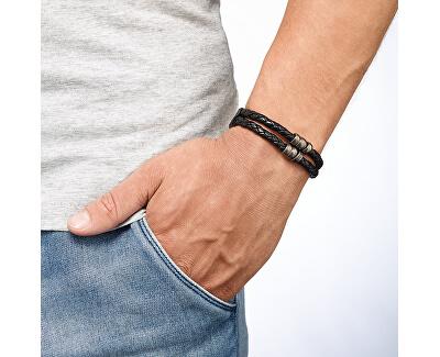 Pánský kožený náramek JF85460040