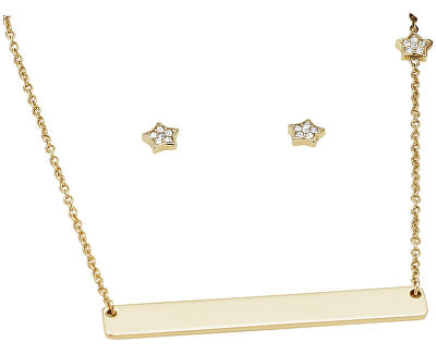Hviezdna súprava náhrdelníka a náušníc JF03048710