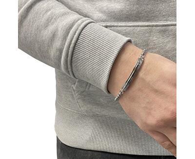 Pánský ocelový náramek Mens Dress JF03630040