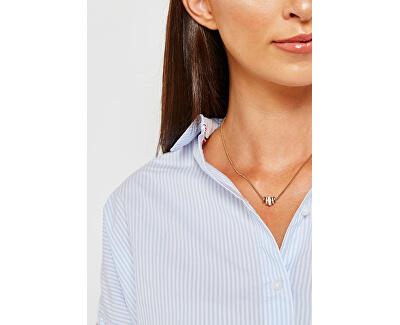 Pozlátený oceľový náhrdelník JF02957710