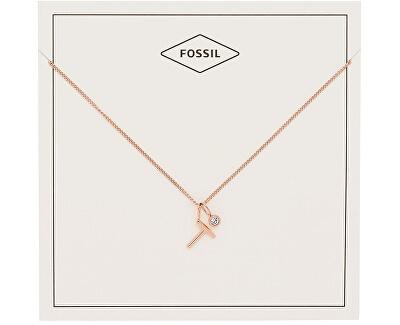"""Bronzový náhrdelník """"T"""" JF03045791"""