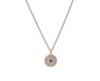 Fashion bronzový náhrdelník Vintage Glitz JF03586791