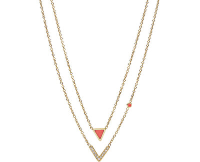 Krásný ocelový náhrdelník JF02894710