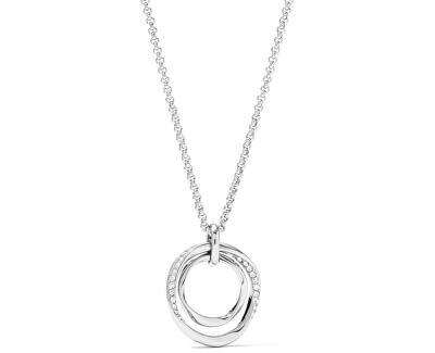 Colier din oțel cu un pandantiv elegant JF01218040