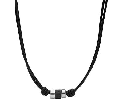 Pánský kožený náhrdelník Mens Dress JF03690040