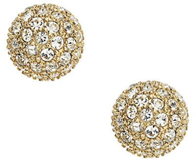 Cercei placați cu aur și cristale JF01406710