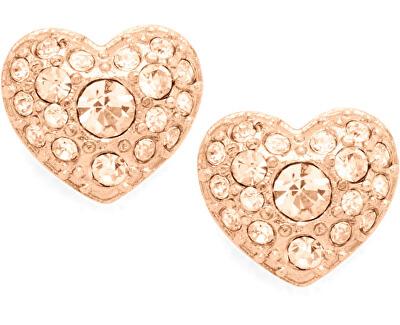 Cercei din bronz în formă de inimă JF01151791