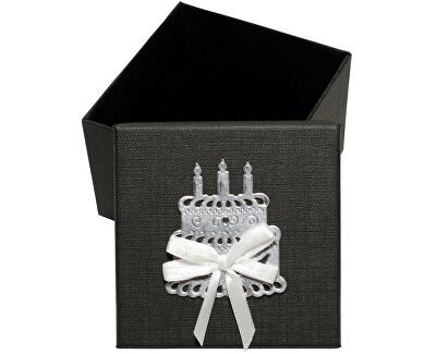 Luxusná darčeková krabička so strieborným tortou
