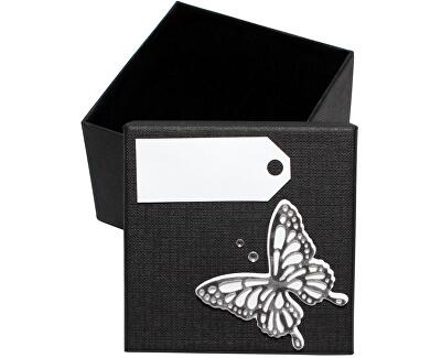 Luxusná darčeková krabička so strieborným motýlikom