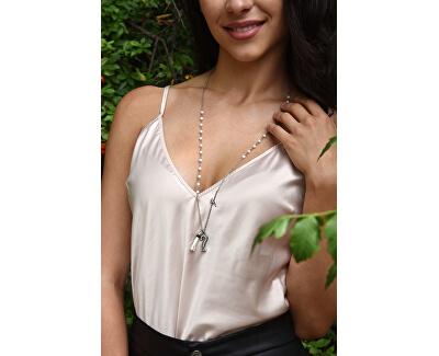Dlhý náhrdelník so strapcom UBN85111