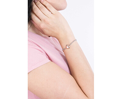 Romantický bicolor náramok UBB78103-S