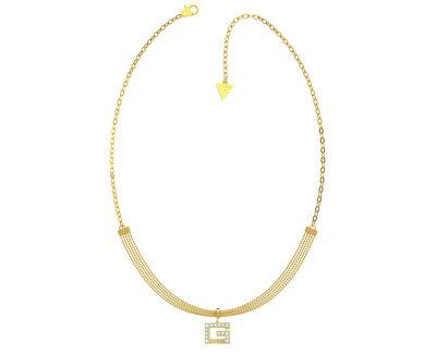 Luxuriöse Halskette mit glitzerndem Anhänger G UBN79057